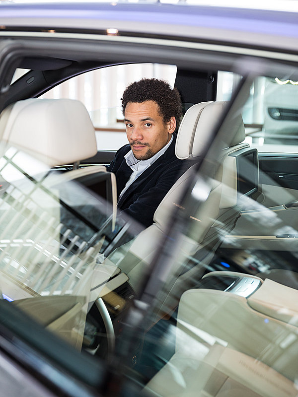 Portrait Oliver Heilmer, Chief Interior Designer BMW für monocle