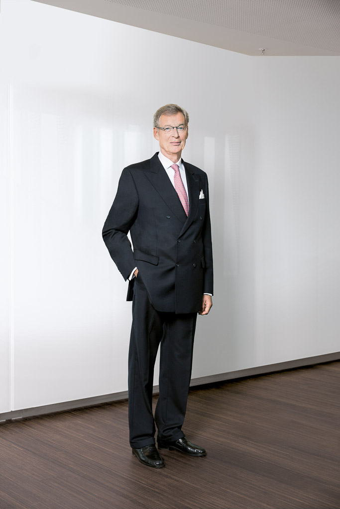 Portrait Gerhard Cromme, ehem. Aufsichtsrat ThyssenKrupp