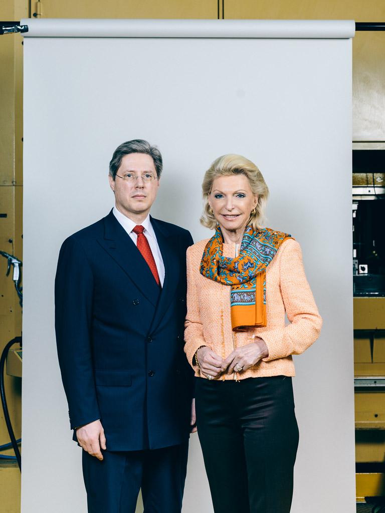 Georg und Maria Schaeffler, Schaeffler AG