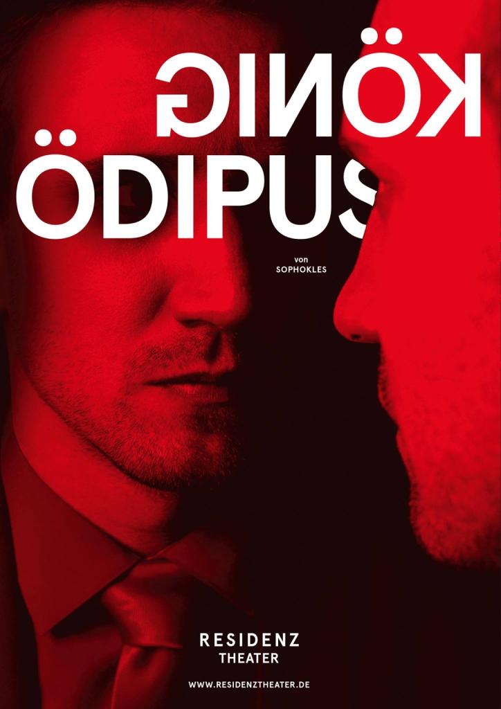 Plakat OEDIPUS, Residenztheater