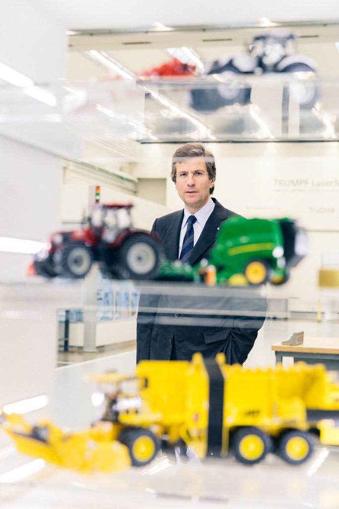 Mathias Kammüller, Geschäftsführer TRUMPF