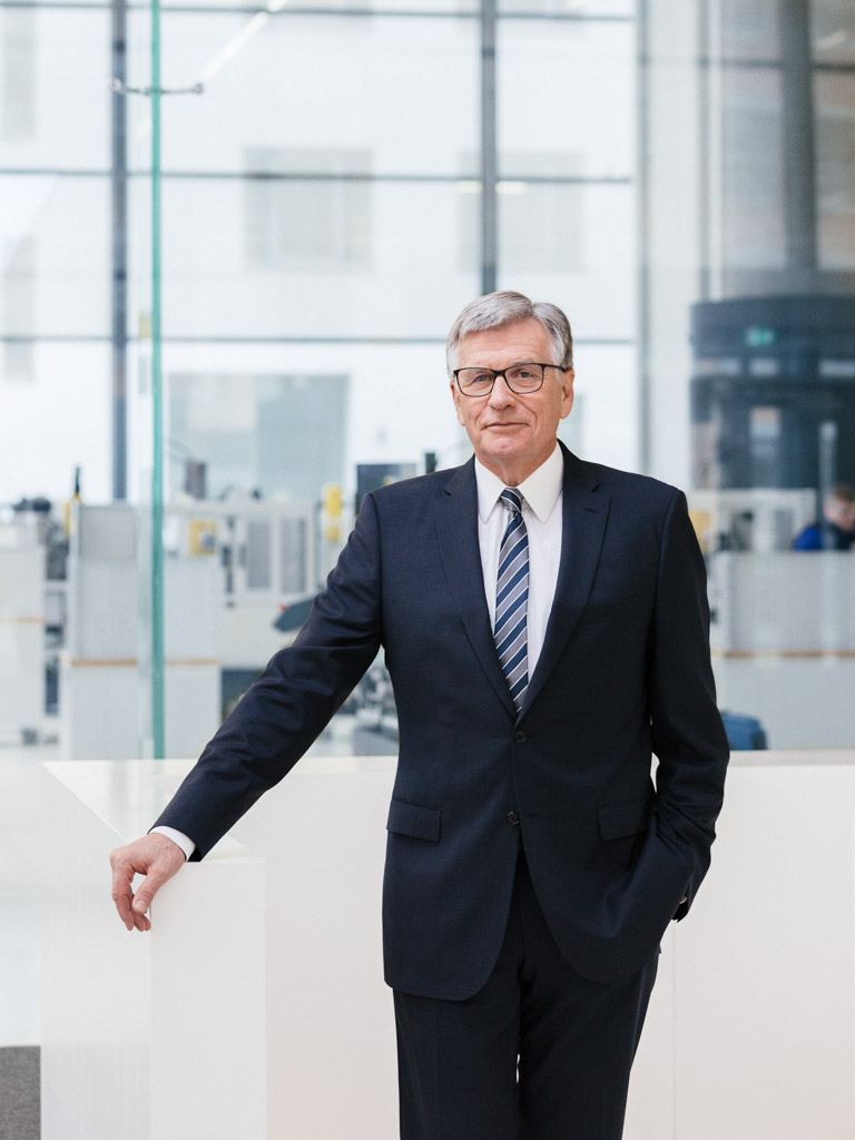 Hubert Lienhard, CEO, VOITH