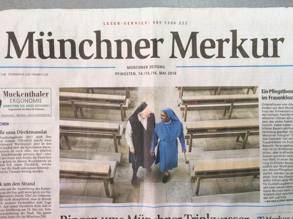 Titelseite MÜNCHNER MERKUR, 15.6.2016