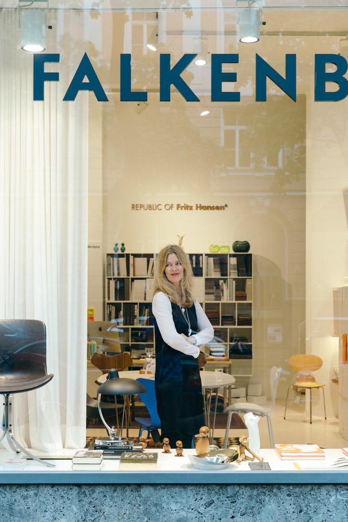 Sabine Falkenberg, Store Falkenberg