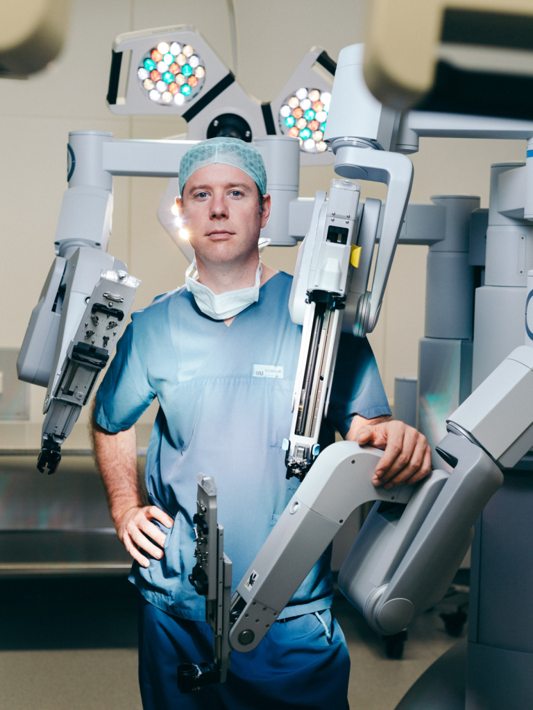 Christian Gratzke, Chirurg