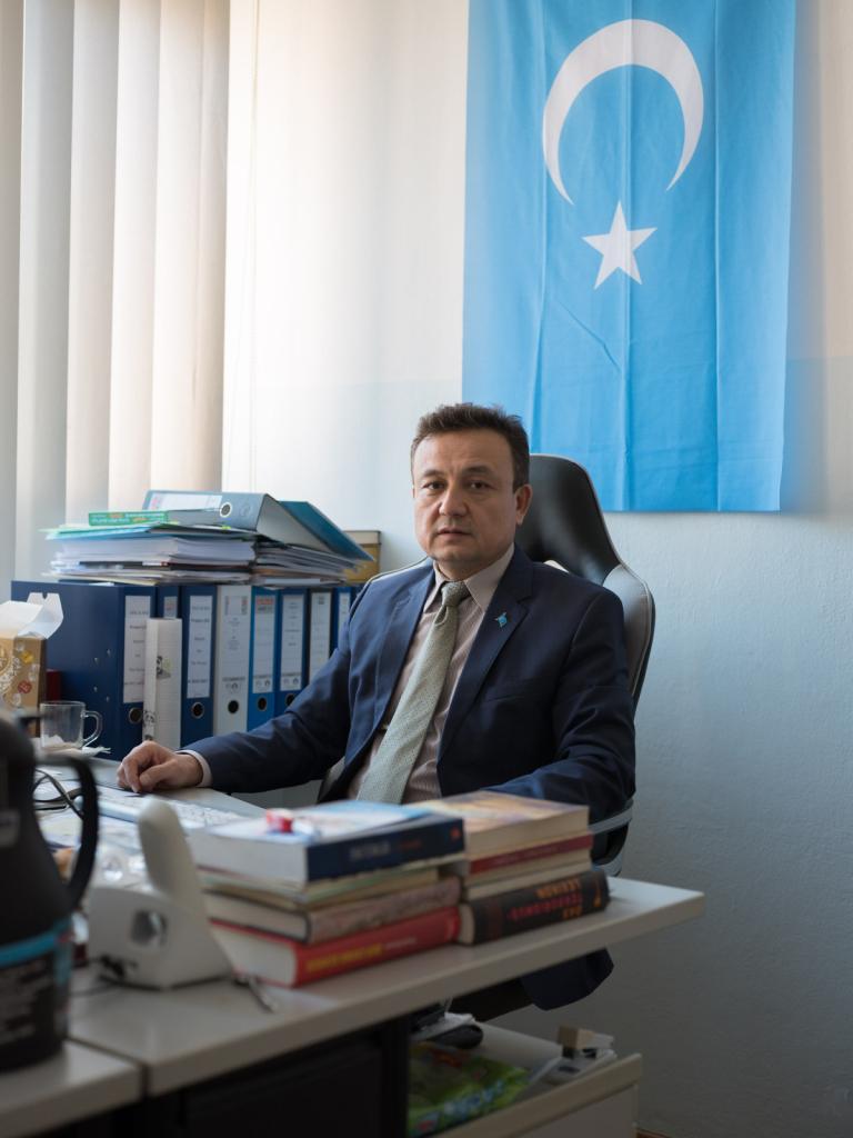 Dolkun Isa, Präsident des Uigurischen Weltkongresses