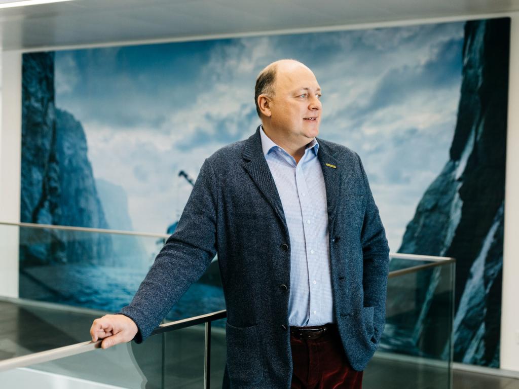 Andreas Klauser, CEO, Palfinger