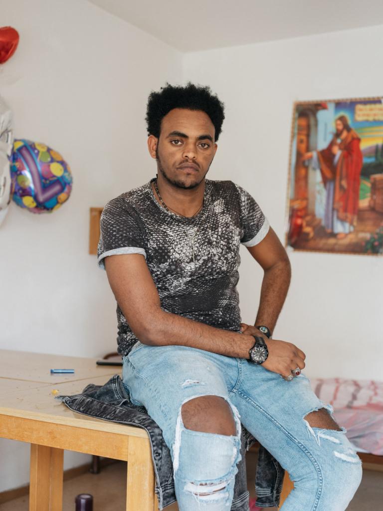 Filmon Bereket, Geflüchteter, Eritrea